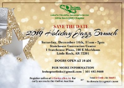 Holiday Jazz Brunch 2019 | The Little Rock AR. Chapter ...
